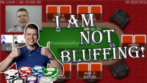 I am not bluffing