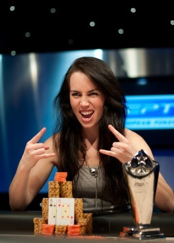 poker girl Liv Boeree