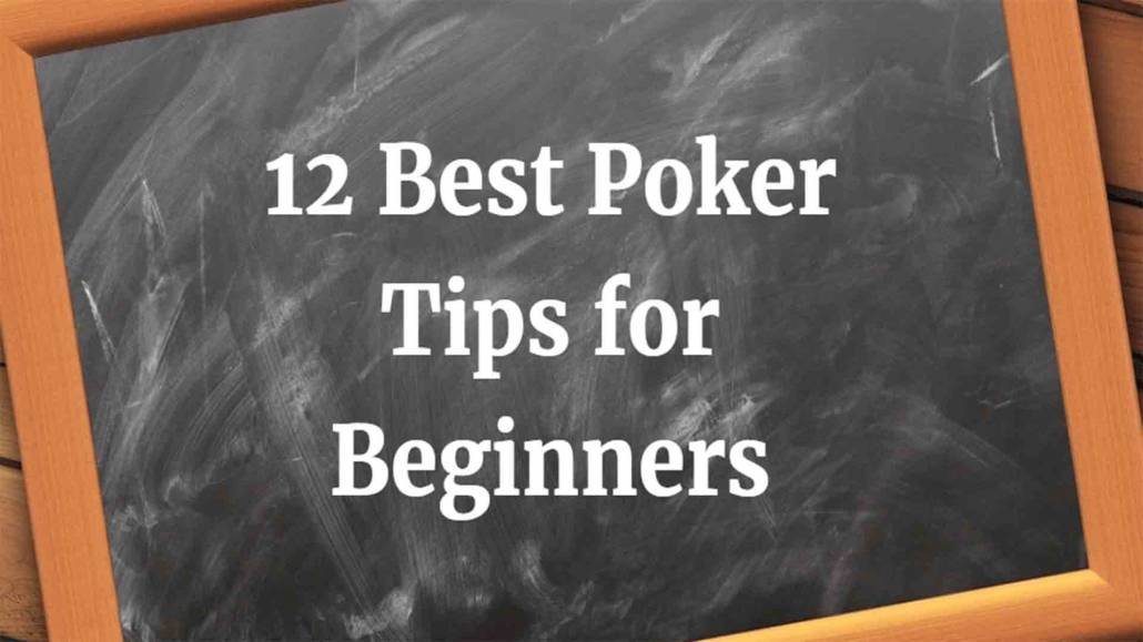 top best poker tips for beginners