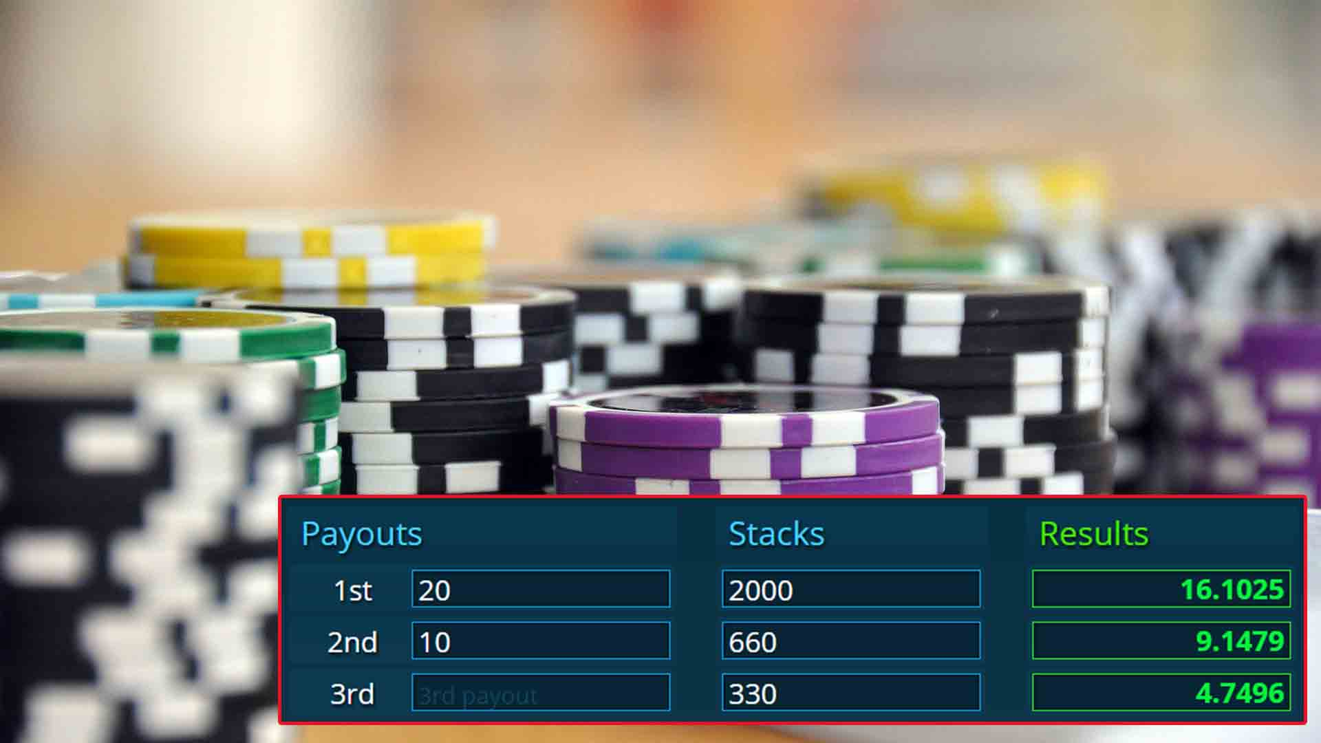ICM poker tournament strategy