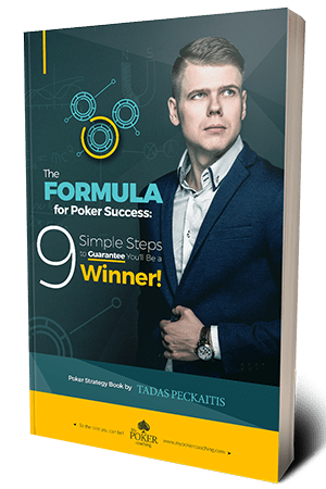 my poker coaching - poker book formula for success