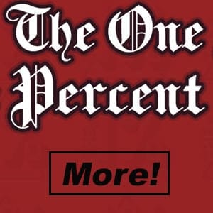 the one percent banner