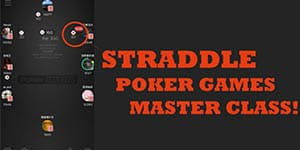 straddle poker games master class training online